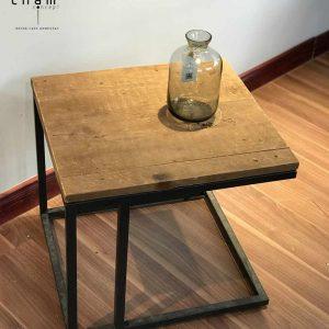 Bàn gỗ chân sắt DG13