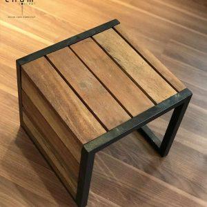 Bàn gỗ chân sắt DG15