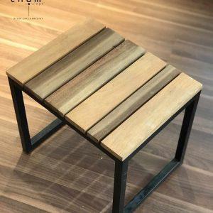 Bàn gỗ chân sắt DG17