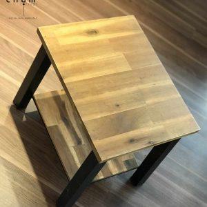 Bàn gỗ chân sắt DG18